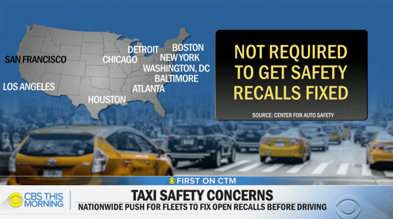 Many taxi companies in U.S. aren't required to fix cabs after safety recalls