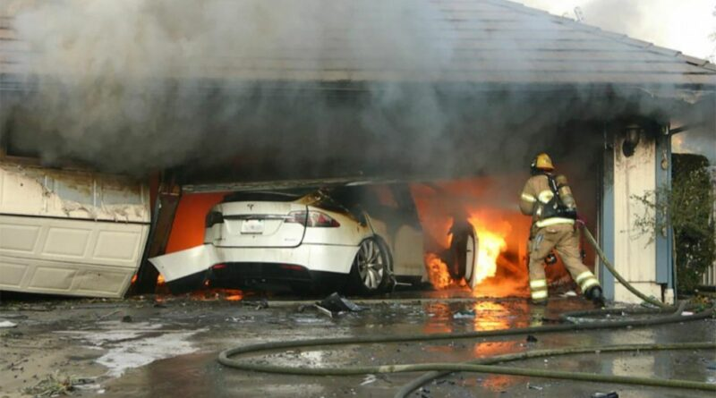 Vehicle and Battery Fires