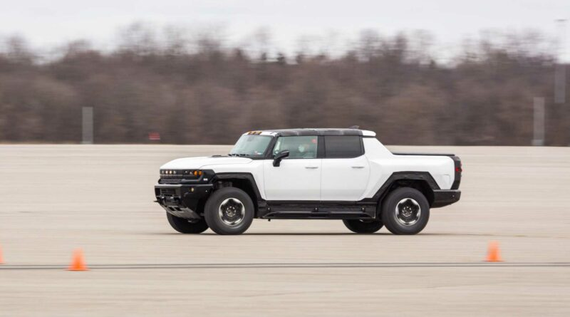 GMC Hummer EV's Weight And Quickness Raise Safety Concerns
